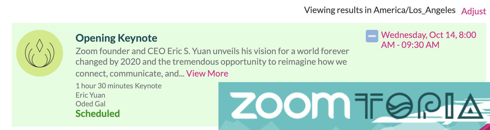 ZoomTopia 2020